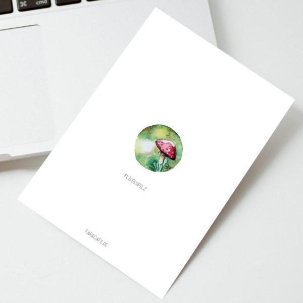 TinyArtworks Miniatur Aquarelle A6 Mini Poster Kunstdruck Printable